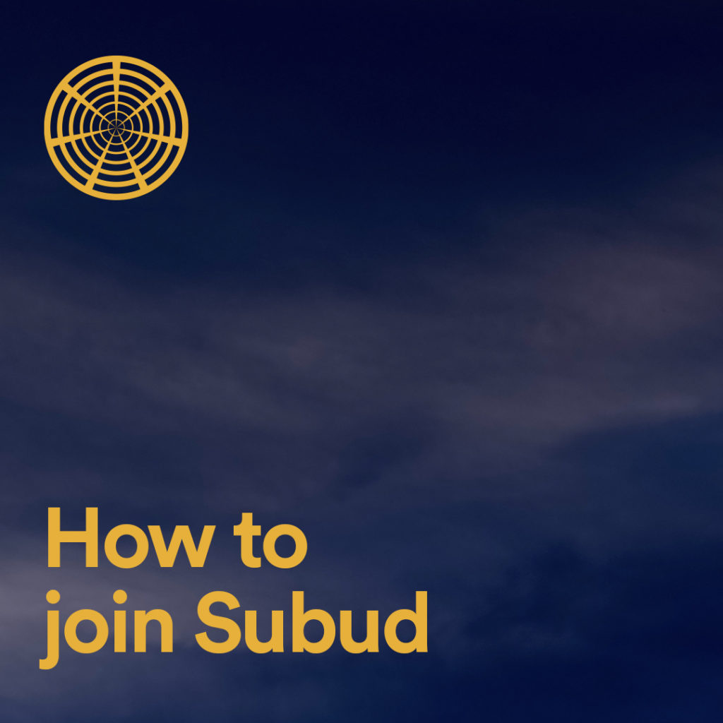 How To Join Subud
