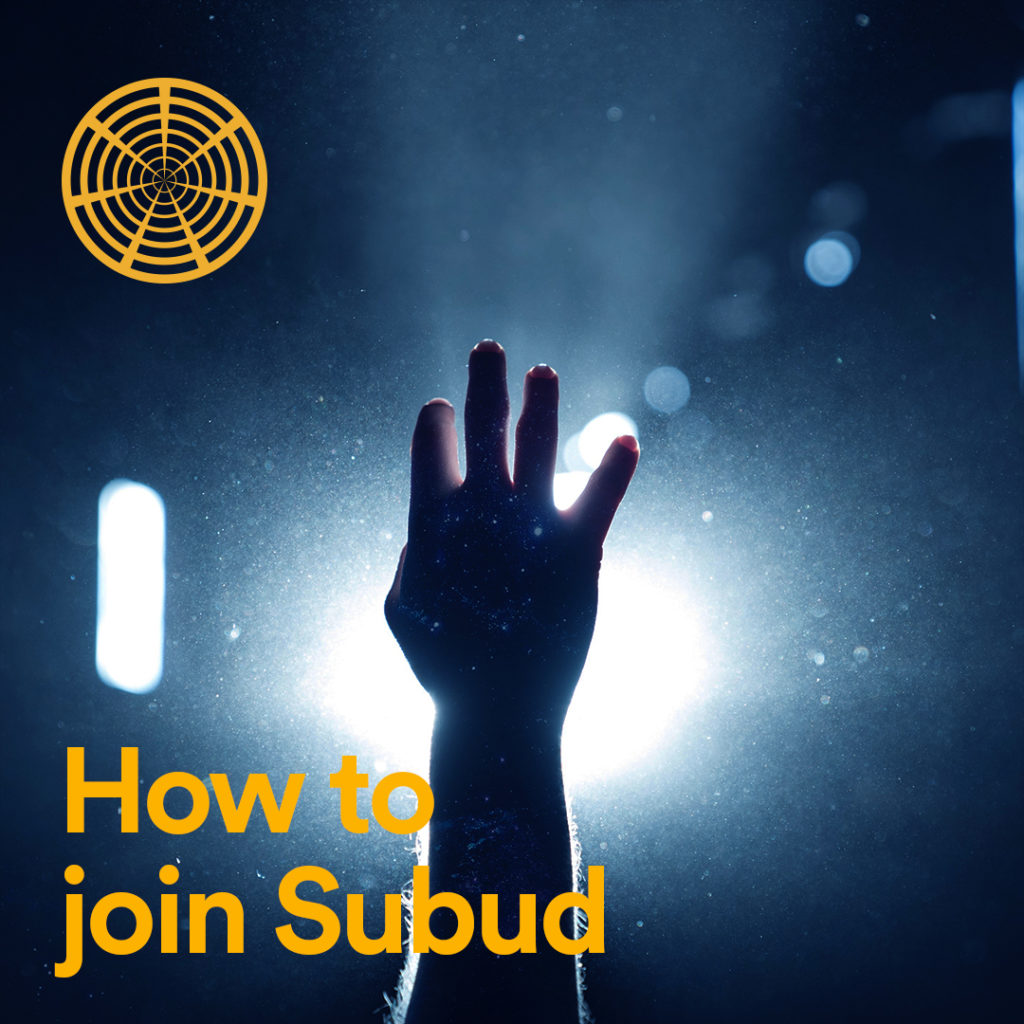 How to join Subud?