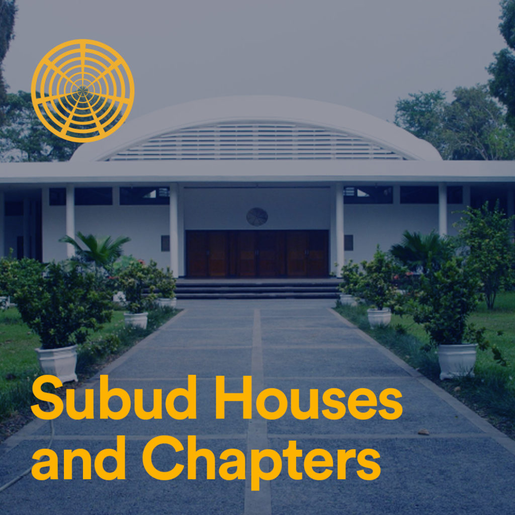 Subud Houses and Chapters